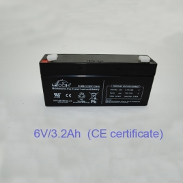 Pin acid battery (6V/3.2Ah)